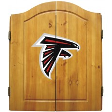 Atlanta Falcons NFL Dartboard Cabinet Set