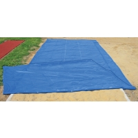 PitSaver Weighted MESH Jump Pit Cover, 12' x 30'
