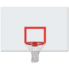 Jaypro Outdoor Rectangular Steel Basketball Backboard, 850RB-BB