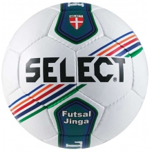 Select Jinga Futsal Ball, OFFICIAL SIZE, White