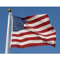 United States Flag,  6' x 10', POLY-MAX