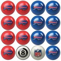 Buffalo Bills NFL Home vs Away Billiard Ball Set
