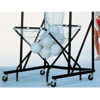 Excel E6514 Adjustable Height Bask It Volleyball Cart