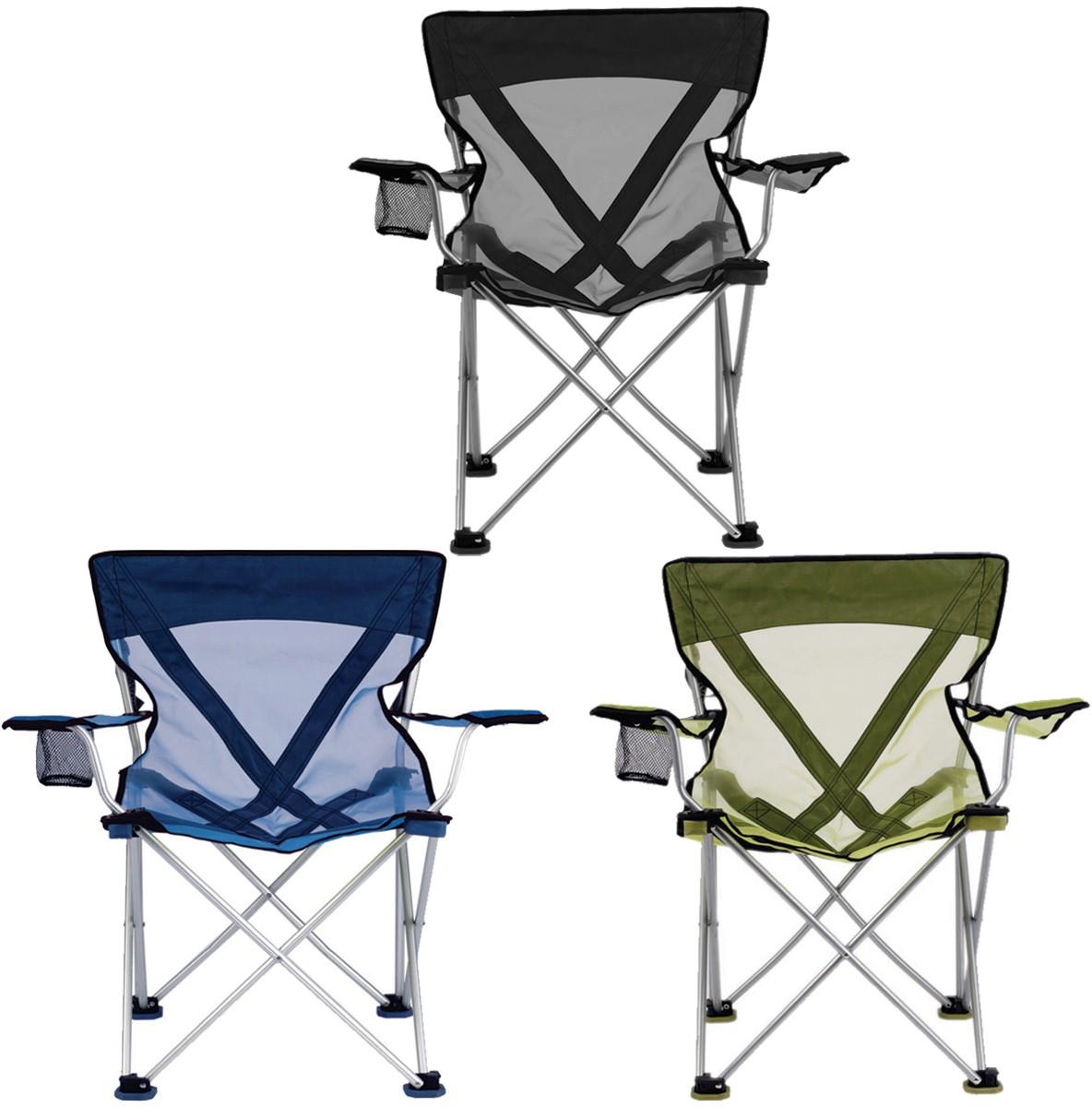TravelChair 579V Teddy Folding Chair w Mesh Fabric