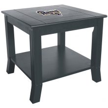 St. Louis Rams NFL Hardwood Side/End Table