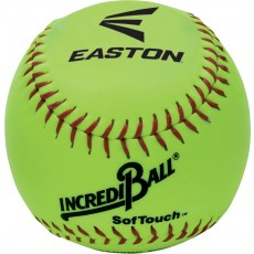 "Easton 12"" Incrediball Neon SofTouch Training Softball, A122605T, ea"
