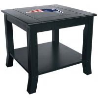 New England Patriots NFL Hardwood Side/End Table