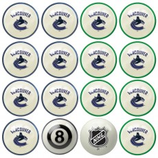Vancouver Canucks NHL Home vs Away Billiard Ball Set