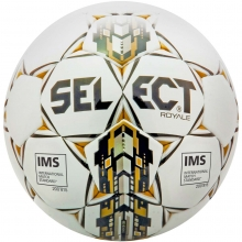 Select 01-253 Royale Soccer Ball, SIZE 5, Black