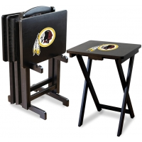 Washington Redskins NFL TV Snack Tray/Table Set