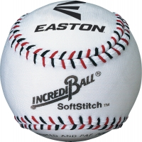"Easton A122305T Incrediball SoftStitch Training Baseball, 9"", ea"