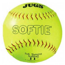 Jugs B5110 Softie Leather Training Softballs, 11""