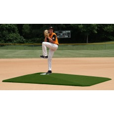 "Proper Pitch 107004TG Tapered Game Mound, 10""H x 11'6""L x 8'3""W, Green"