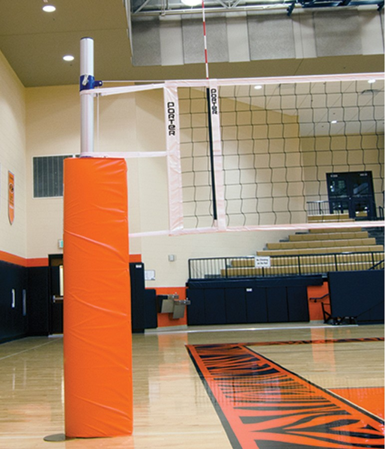Porter 019611 Powr Rib Ii Volleyball Net System Package