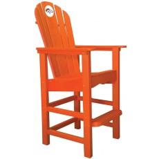 Denver Broncos NFL Outdoor Pub Captains Chair, ORANGE