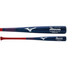 Mizuno MZE243 Bamboo Elite Baseballl Bat, Navy/Red