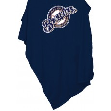 Milwaukee Brewers Sweatshirt Blanket