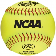 "Rawlings 12"", 47/400 Fastpitch Practice Synthetic Softballs , dz"