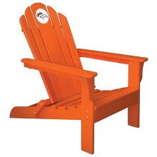 Denver Broncos NFL Folding Adirondack Chair, ORANGE