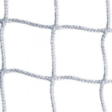 Kwik Goal 8' x 24' x 3' x 8' Official Soccer Nets, 3mm, WHITE, 3B1621 (pr)