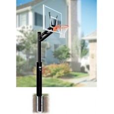 Bison BA89QC-AW 4'' Quick Change Residential Basketball Hoop