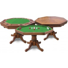 Carmelli Kingston Hardwood Poker/Bumper Pool Table