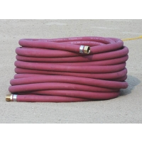 White Line Red Water Hose, 100'