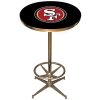 San Francisco 49ers NFL Pub Table