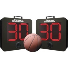 Sportable Scoreboard SC-9W Wireless Portable Basketball Shot Clocks