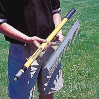 Collapsible Base Runner Infield Rake, 36""