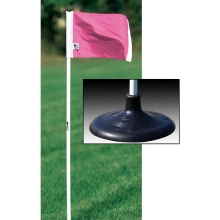 Kwik Goal 6B1420 PINK Premier Soccer Corner Flags (set of 4)