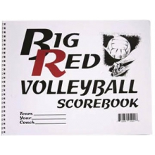 Big Red 5020 Volleyball Scorebook