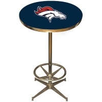 Denver Broncos NFL Pub Table