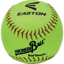 "Easton 12"" Incrediball Neon SofTouch Training Softball, A122605T, ea"