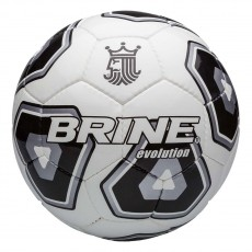 Brine SBEV046-04 Evolution Soccer Ball, Black, Size 4