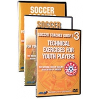 Soccer Coaches Guide, 3 DVD set