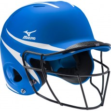 Mizuno MBH252 MVP Batter's Helmet w/Facemask, L/XL