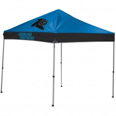 Carolina Panthers NFL 9x9 Straight Leg Canopy