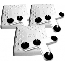 "Soft Touch IN1500 15"" Indoor Bases w/ Mounting Tees, set of 3"