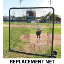 Softball Protective Screen REPLACEMENT NET, 7'H x 7'W
