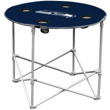 Seattle Seahawks NFL Pop-Up/Folding Round Table