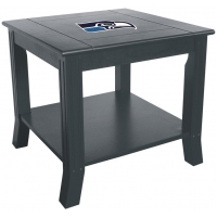 Seattle Seahawks NFL Hardwood Side/End Table