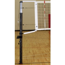 Bison VB7000NS CarbonMax Carbon Fiber Composite Volleyball Net System, COMPLETE SET