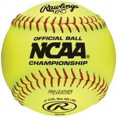 Rawlings NC12L NCAA Championship 47/400 12'' Fastpitch Softballs, dz