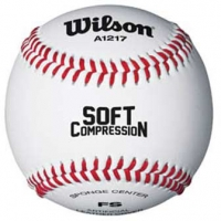 Wilson WTA1217B Soft Core Youth Baseball, dz