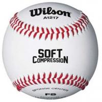 Wilson WTA1217B Soft Core Youth Baseball, dz