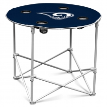 Los Angeles Rams NFL Pop-Up/Folding Round Table