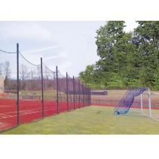 Jaypro 20' x 65' Soccer Ball Stop Barrier Netting System, FNSB-65