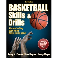 Basketball Skills & Drills, 3rd edition, Book w/ DVD
