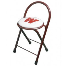 Stadium Chair Locker/Time Out Stool, w/ 1-Color Artwork